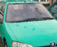 Green Peugeot