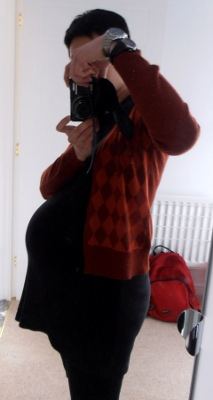 Final bump pic, 39 weeks